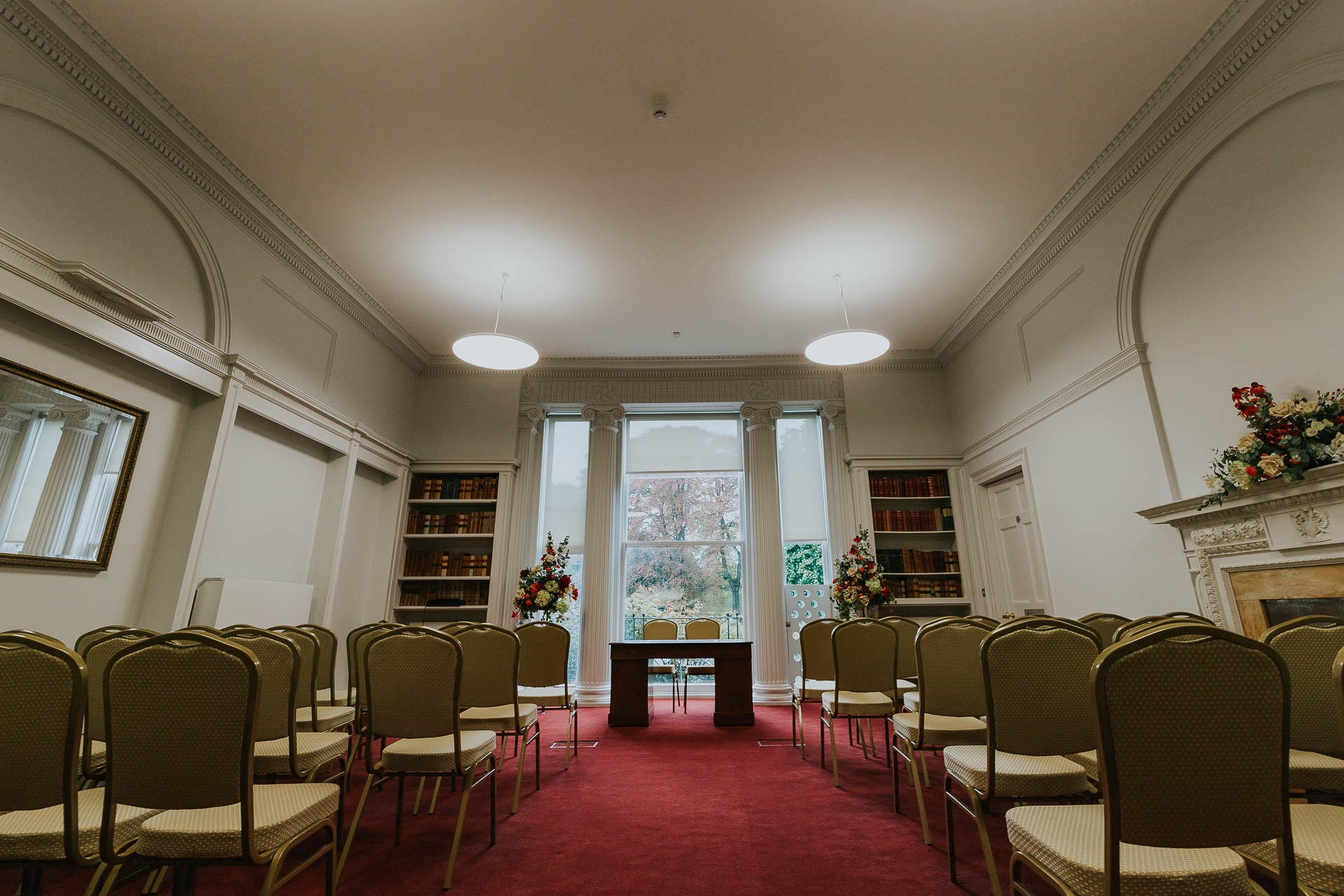 The Library - Ceremony Rooms in Salisbury Registry Office