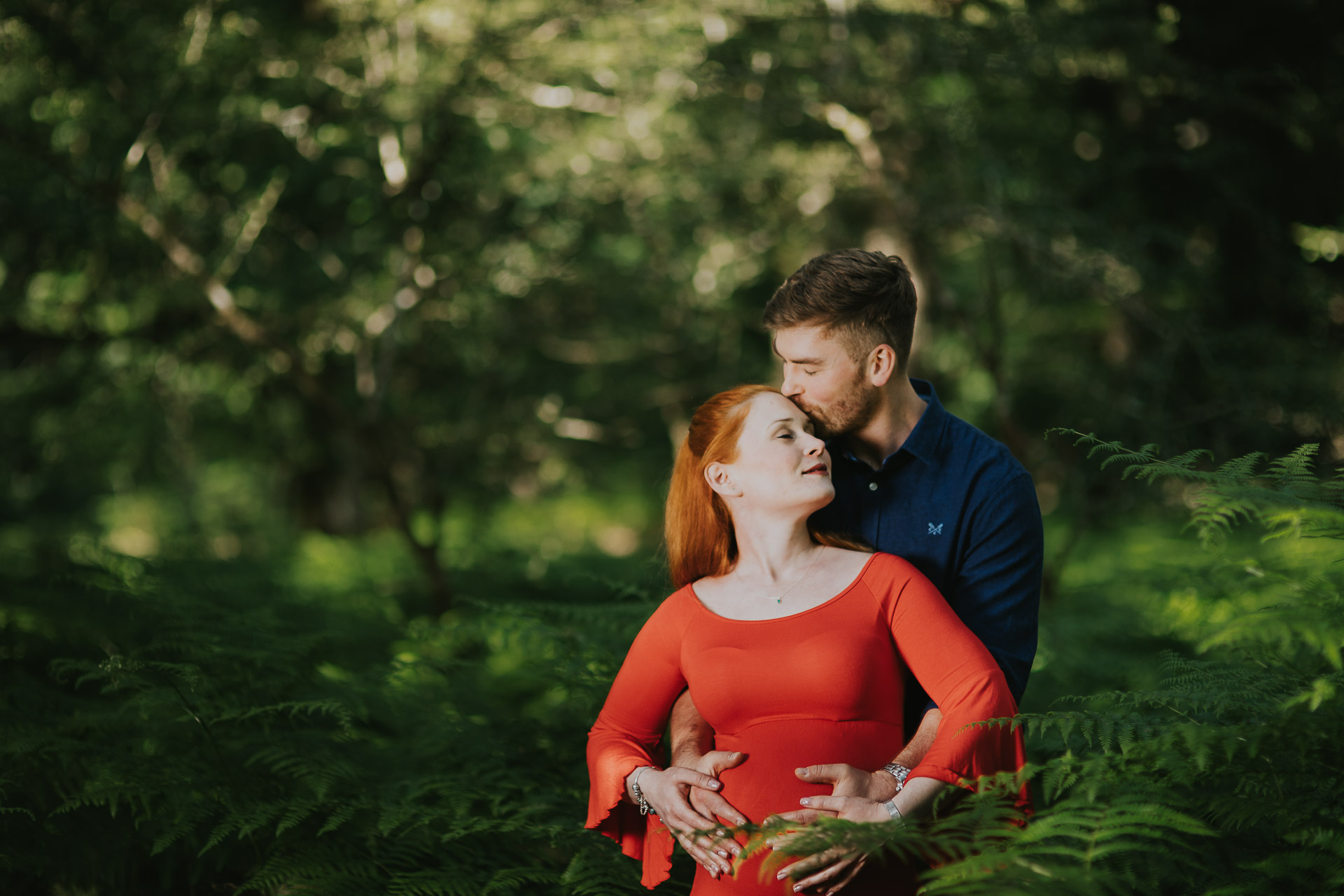 maternity-photography-pregnacy-shoot-in-the-new-forest-with-Alexa-and-Mike-4